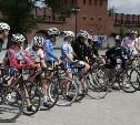 В Туле встретили участников велопробега Москва – Сочи «Помоги встать!»