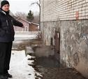 Пятиэтажка в Советске уходит под воду