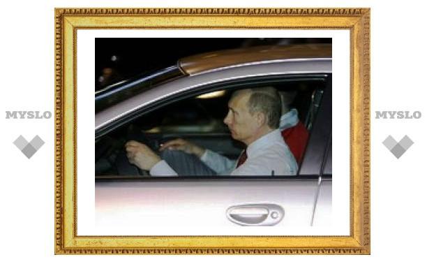 """Владимир Путин оценил новую """"Волгу"""""""