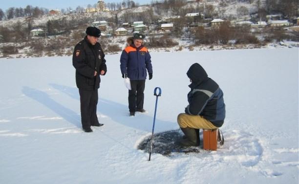 Сотрудники полиции и ГИМС провели рейды на тульских водоемах