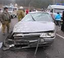 На автодороге Заокский-Велегож перевернулся автомобиль