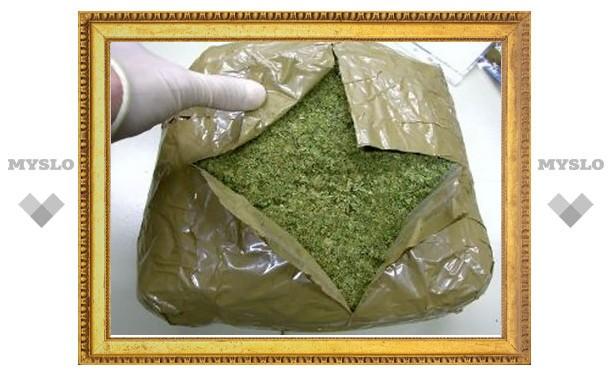 В Тульской области нашли более 2 килограммов марихуаны