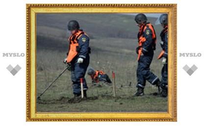 В МЧС сообщили о бомбе в пруду