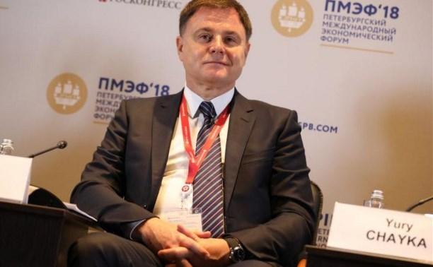 Владимир Груздев на ПМЭФ-18: Мы работаем над созданием Третейского суда при Ассоциации юристов России