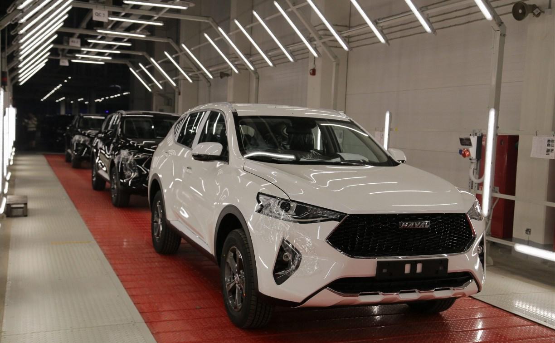 В Тульской области официально запустили автомобильный завод Haval