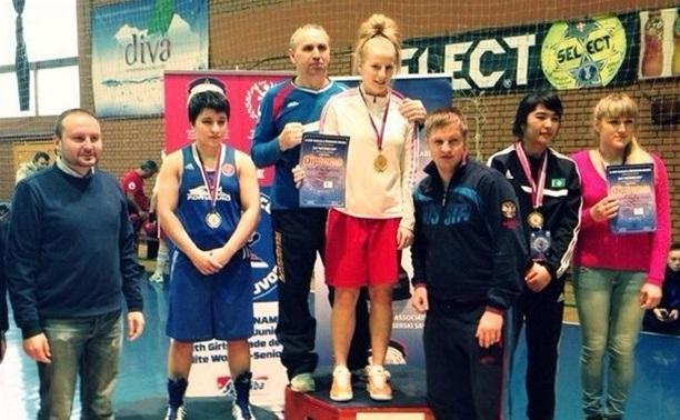 Тульская спортсменка победила в международном турнире по боксу