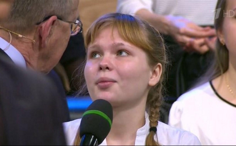 Тульская школьница стала победительницей телевикторины «Умники и умницы»