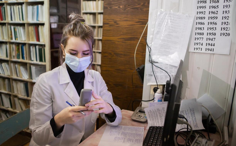 Киреевской поликлинике в период пандемии помогают волонтеры