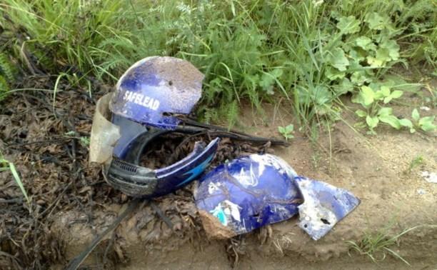На трассе М2 разбился мотоциклист