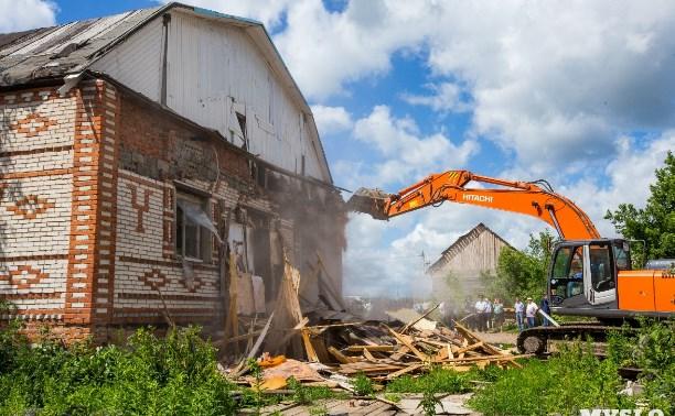 Жителям цыганского поселения в Плеханово выдают земельные участки