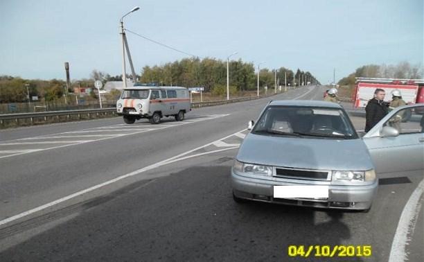 Два человека пострадали в столкновении «Ниссана» и «десятки» в Тепло-Огаревском районе