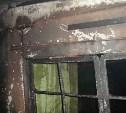 Ночью под Тулой горел дом