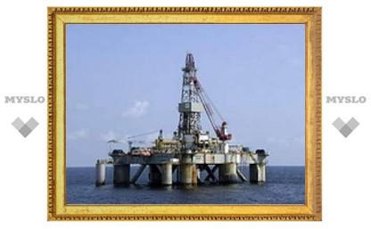 Цены на нефть опустились ниже 45 долларов за баррель