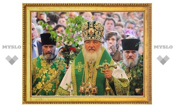 Патриарх Кирилл посетил Шамординскую пустынь