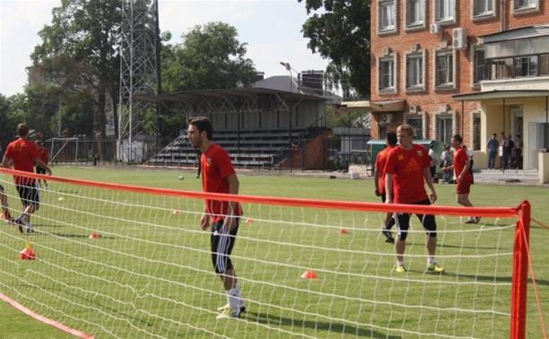 «Арсенал» провел открытую тренировку