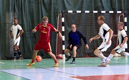В Тульской лиге любителей футбола прошли очередные матчи