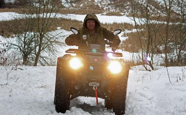 В Тульской области охотнадзор патрулирует леса на новой технике: репортаж