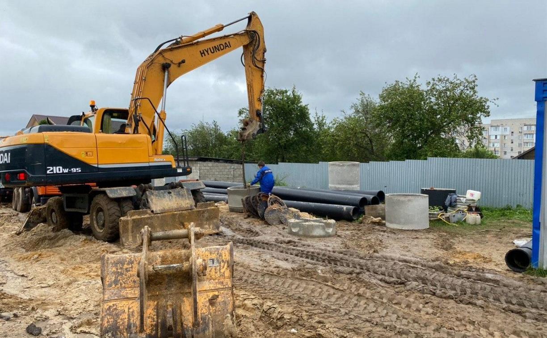 Централизованная канализация и чистая питьевая вода: в Туле проводят ремонт сети водоснабжения