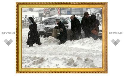 Тулу завалит снегом