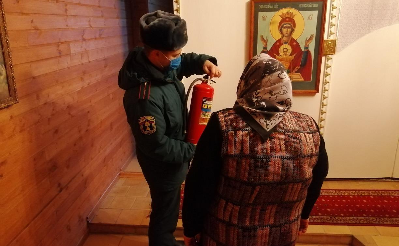 В Рождество в тульских храмах и церквях будут дежурить сотрудники МЧС