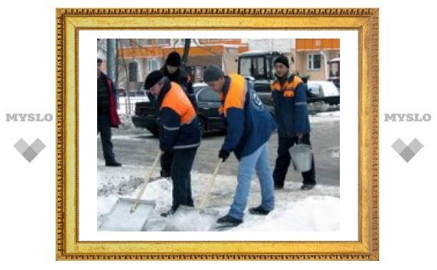 Жилищники не чистят дворы из-за жильцов