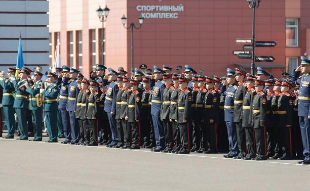 В ТулСВУ 80 ребят посвятили в суворовцы