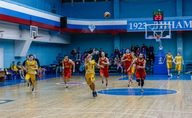 Баскетболисты «Тула-Арсенал» не смогли победить в Курске