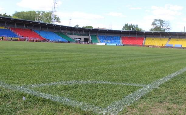 На стадионе «Арсенал» восстановили газон и систему обогрева