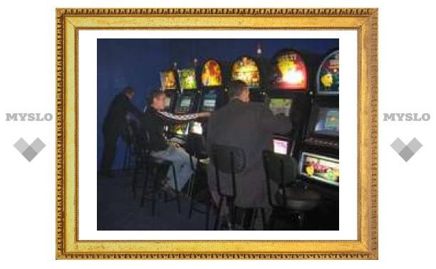 Незаконный игровой клуб закрыли в Туле