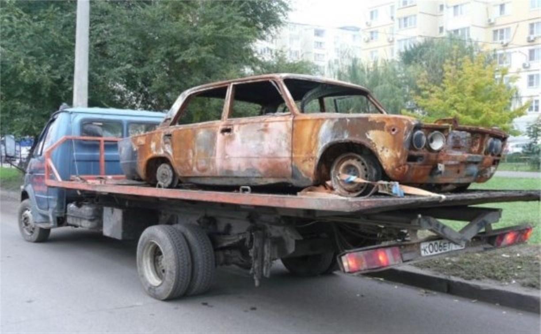За два дня администрация Тулы ликвидировала шесть бесхозных автомобилей