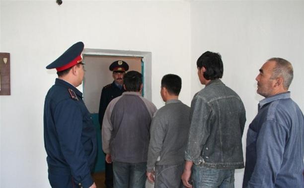 Полиция провела рейд по противодействию незаконной миграции