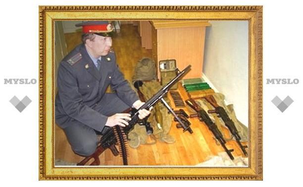В Туле вырос незаконный оборот оружия