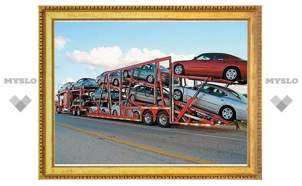 Импорт автомобилей в Россию сократился в четыре раза