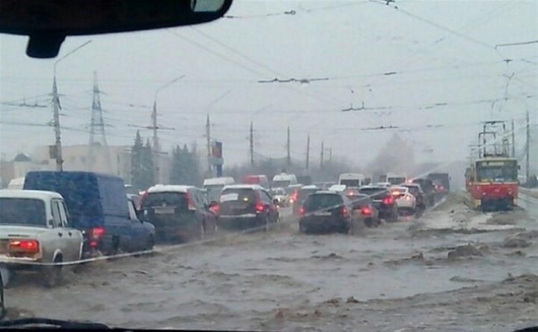 За мартовский «потоп» в Туле ответит «Спецавтохозяйство»