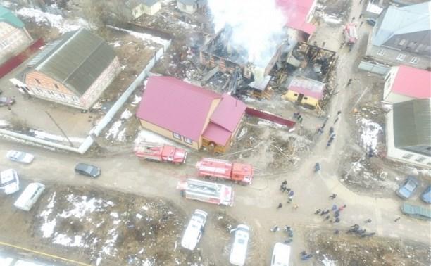 Причиной пожара в Плеханово могла стать неправильная установка печи