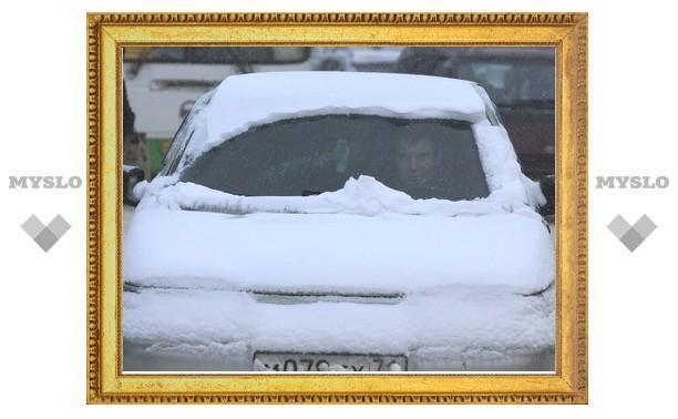 Тулу завалило снегом!