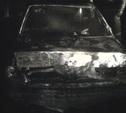 В деревне под Тулой сгорел BMW