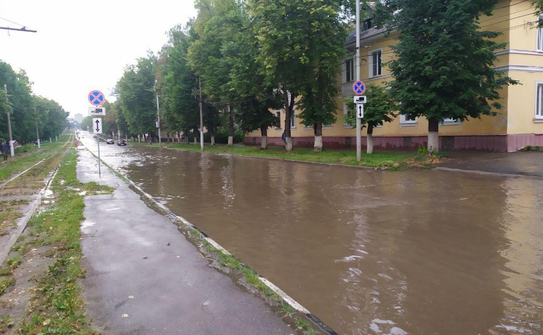 Погода в Туле 15 июля: прохладно, облачно и мокро