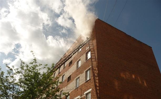 В Алексине пожарные спасли семь человек