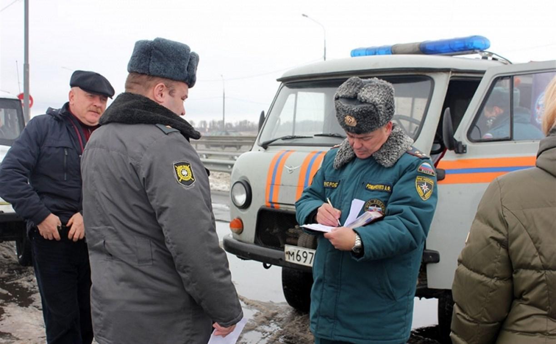 В Тульской области проверили готовность РСЧС к ликвидации аварий
