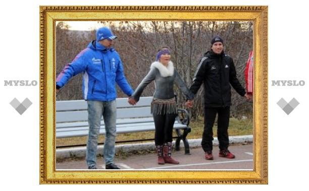 Биатлонисты сборной России изгнали злых духов