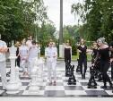 В Центральном парке новый арт-объект: Кто сыграет в «Большие шахматы»?