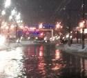 За ночь тульские улицы затопило