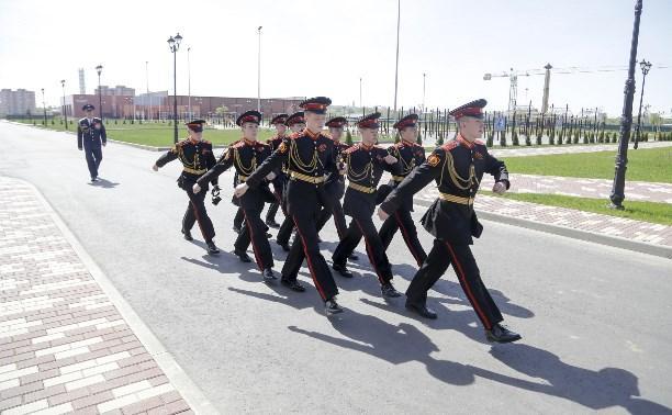 Один день из жизни воспитанников Тульского суворовского военного училища