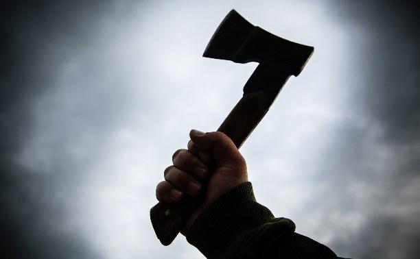 В Тульской области мужчина зарубил топором приятеля и спрятал тело в лесу