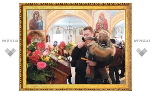 Под Тулу привезут мощи преподобного Сергия Радонежского