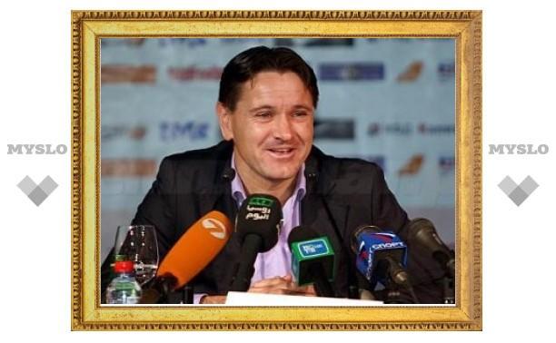 Аленичев официально возглавил юношескую сборную России