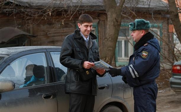 """Туляк остался без номеров, попав на """"детский"""" рейд ГИБДД"""