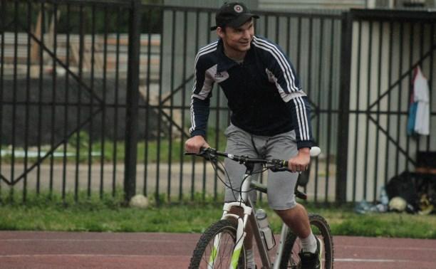 Туляк едет к Чёрному морю на велосипеде