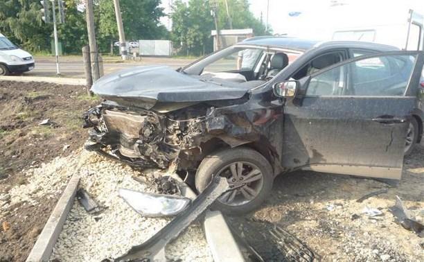 В столкновении «Хендэ» и «десятки» на трассе «Дон» пострадали три человека